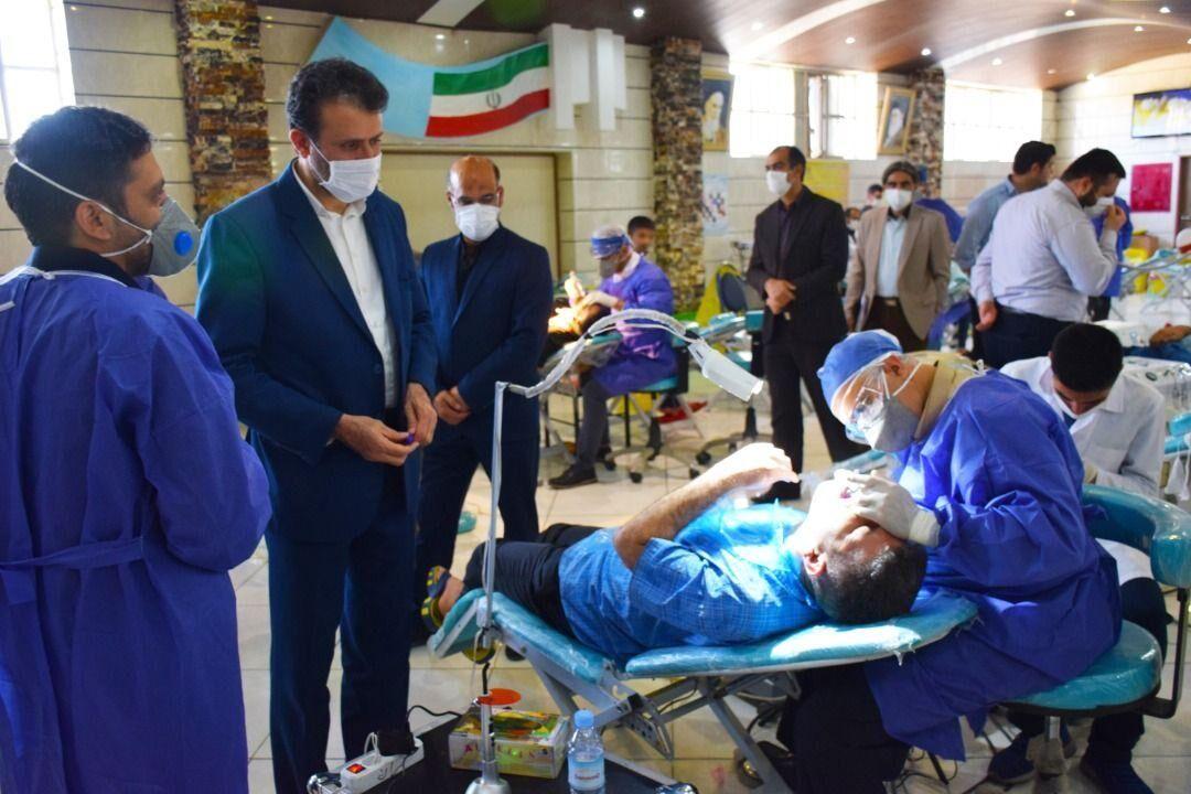 ارائه خدمات رایگان دندانپزشکی در زندانها